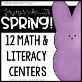 For Peeps Sake!  Spring is Here!  {6 Literacy & 6 Math Act