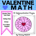 For the Love of Math! Common Core Aligned 1st and 2nd Grade