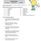 Force, Work & Power Worksheet