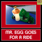 Force and Motion Experiment - Egg on a Ramp