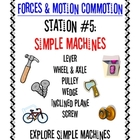 Forces &amp; Motion Commotion Station Signs