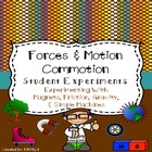 Forces &amp; Motion Commotion Student Experiments