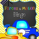 Forces and Motion Bingo
