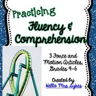 Forces and Motion - Practicing Fluency and Comprehension *