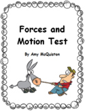 Forces and Motion Test