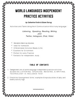 Foreign Language Practice Activities