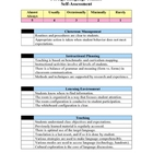 Foreign Language Teacher-Self-Assessment Document