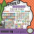 Forest Theme Decor Pack (Orange,Purple, Blue, Green, Brown)