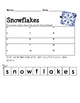 Form a Word: SNOWFLAKES