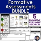 Formative Assessment Bundle
