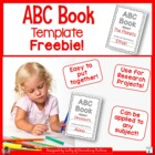 Formatted open ABC book