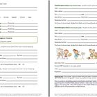 Forms For Children Transitioning From One Classroom to Nex
