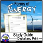 Forms of Energy Study Guide