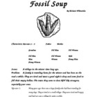 Fossil Soup Reader's Theater for the Classroom