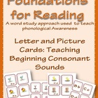 Foundations for Reading: Letter and Picture Cards (initial