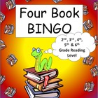 Four Book BINGO (2nd, 3rd, 4th, 5th, and 6th grade)- BUNDL
