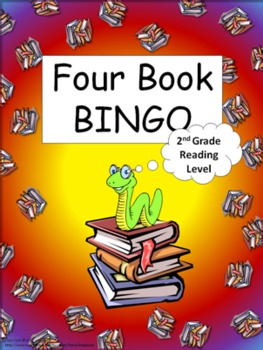 Four Book BINGO (2nd grade)- Independent Reading Activity