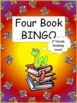 Four Book BINGO (3rd grade)- Independent Reading Activity