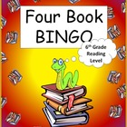 Four Book BINGO (6th grade)- Reading Activity