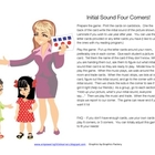 Four Corners - Kindergarten Initial Sound Cards {Simply Kinder}