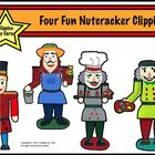 Four Fun Nutcracker Clippies