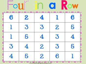 Four In A Row Gameboard