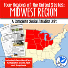 Four Regions of the United States: Midwest Region Complete Unit