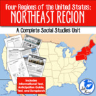 Four Regions of the United States: Northeast Region Complete Unit