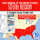 Four Regions of the United States: South Region Complete Unit