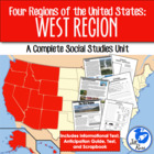 Four Regions of the United States: West Region Complete Unit