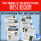 Four Regions of the United States: West Region