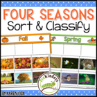 Four Seasons: Sort &amp; Classify