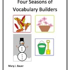 Four Seasons of Vocabulary Builders