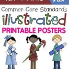 Fourth Grade Large Common Core Standards Posters I Can Sta
