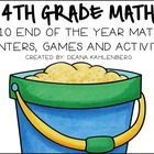 Fourth Grade Math! {10 End-Of-Year Games, Centers and Activities}