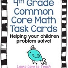 Fourth Grade Math Common Core Task Cards