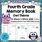 Fourth Grade Memory Book: Great End of Year Writing Project