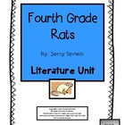 Fourth Grade Rats, by Jerry Spinelli: Literature Unit