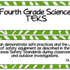 Fourth Grade Science TEKS ~ Green Zebra