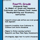 Fourth Grade Standards Maps-California Literacy Standards