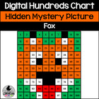 Fox Hundreds Chart Hidden Picture Activity for Fairty Tale