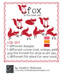 Fox are the new Owl - Classroom Design and clip art freebie
