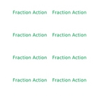 Fraction Action game cards