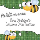 Fraction Attraction Pack: Three Strategies to Compare and