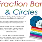 Fraction Bars & Fraction Cirlces