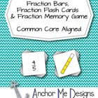 Fraction Bars Memory Game 3rd/4th Grade Math Center Common