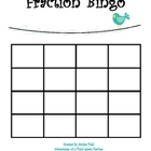 Fraction Bingo Game