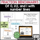 Fraction Cards for Benchmarks of 0, 1/2, and 1 with Activities