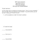Fraction Crunch Recipe