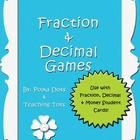 Fraction &amp; Decimal Games